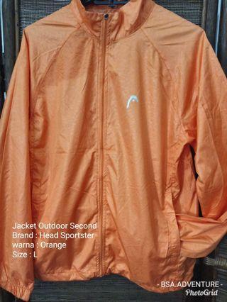 Jacket parasut Outdoor Second