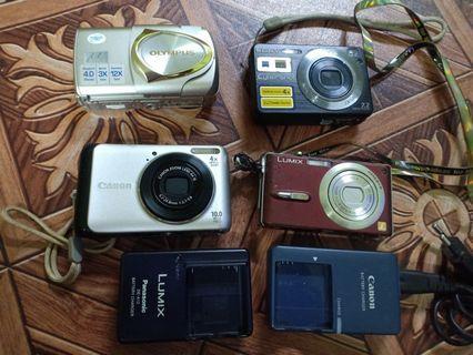 Digital Camera Olympus. Canon. Sony. Panasonic