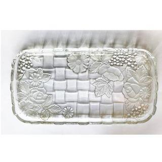 SOGA Crystal plates, 37x20cm , made in Japan