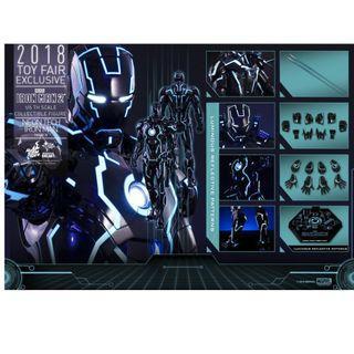 Hottoys Neon Tech Iron Man Mark IV