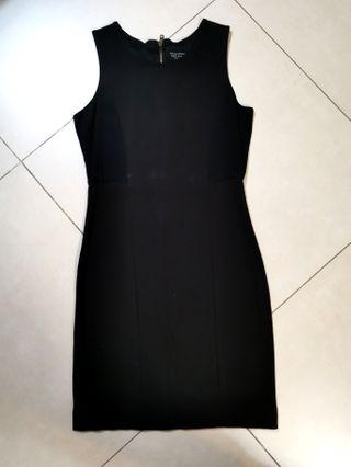 Zara Evening Collection black dress size M