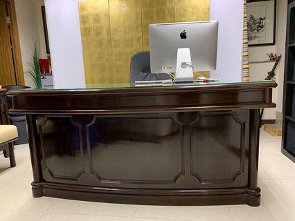 花梨實木書枱 Grand Wood five Desk