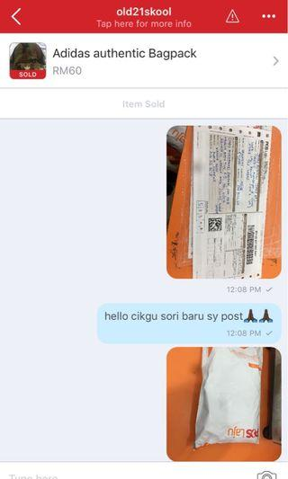 My first customer (first pic) and the rest are my shopee customers