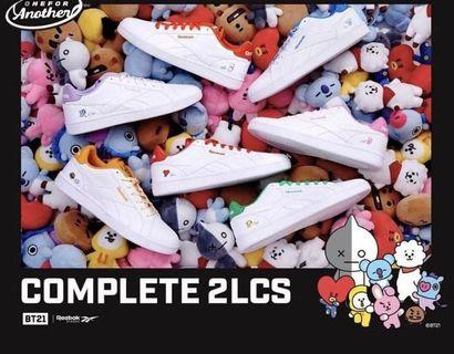 🚚 BT21 REEBOK 2LCS SHOES