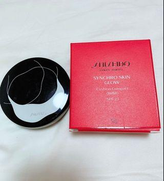 🚚 BNIB Shiseido Synchro Skin Glow Cushion Foundation - Golden 2