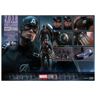 Hottoys Captain America (Concept Art )