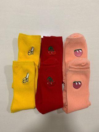 🚚 Fruit Socks