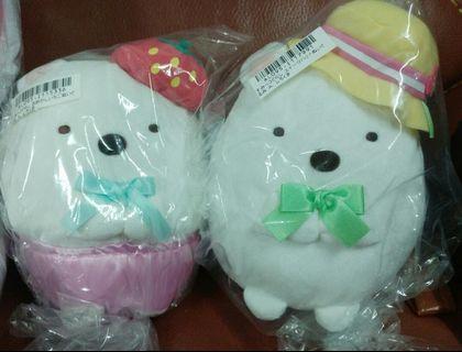 日本直送 全新正版 角落生物 白熊 16cm 公仔