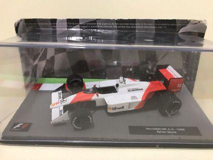 Formula one Mclaren MP4/4 Ayton Senna 1988