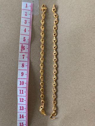 🚚 916 Gold for kids! Bracelet