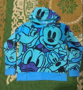 Mickey and friends Overprint Hoodie