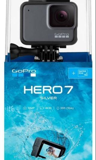🚚 Brand new GoPro Hero 7 Silver