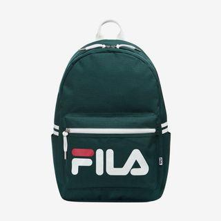 🚚 READY STOCKS | Fila Korea Heritage Court Backpack Bag (Forest Green) FS3BPA6351X_FGR