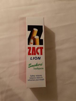 泰國直送 獅王LION Zact去煙漬牙膏160g