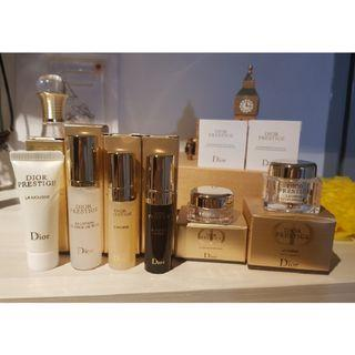 Authentic Dior Prestige Travel Set