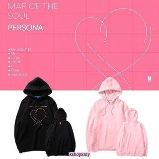 "BTS ""Map Of The Soul : Persona"" Hoodie"