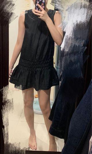 正韓緞面小洋裝