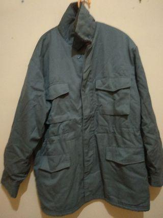 Jacket Sherpa Military Look
