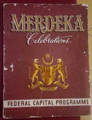 Merdeka book programe (rare collection)
