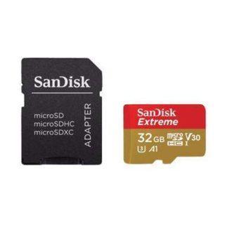 SanDisk Extreme MicroSD 32GB 100MB/s MicroSDHC UHS-I