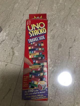 🚚 Original 1994 uno stacko travel size