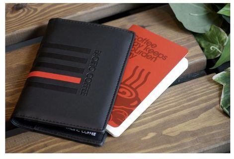 100% new Pacific Coffee passport holder 護照套