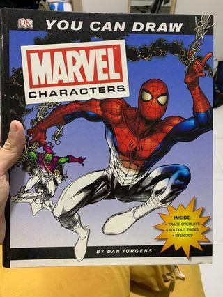 🚚 You can draw marvel characters