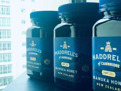 🚚 Haddrell's Manuka Honey UMF* 20+