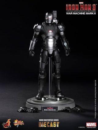 Hot toys MMS198 DO3 Iron man 3 War Machine Mark ll (BIB)