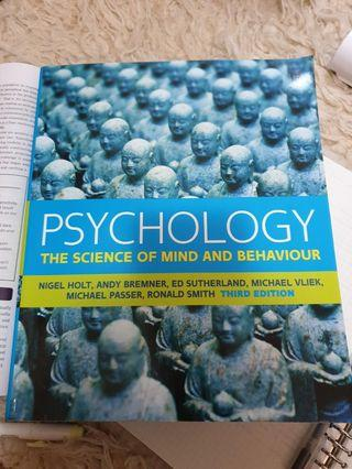 Psychology The Science of Mind and Behaviour 3rd Edition