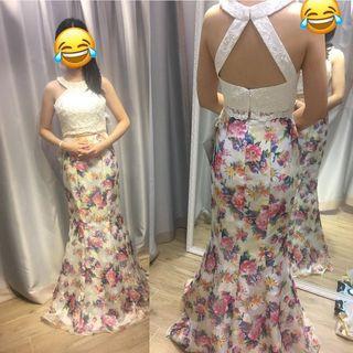 Val Stefani 名牌晚裝裙