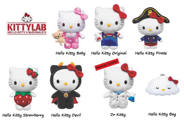 麥當勞35周年Hello Kitty公仔