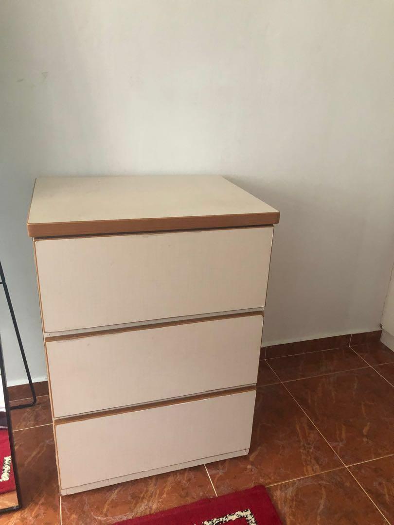 3 Drawers Dresser