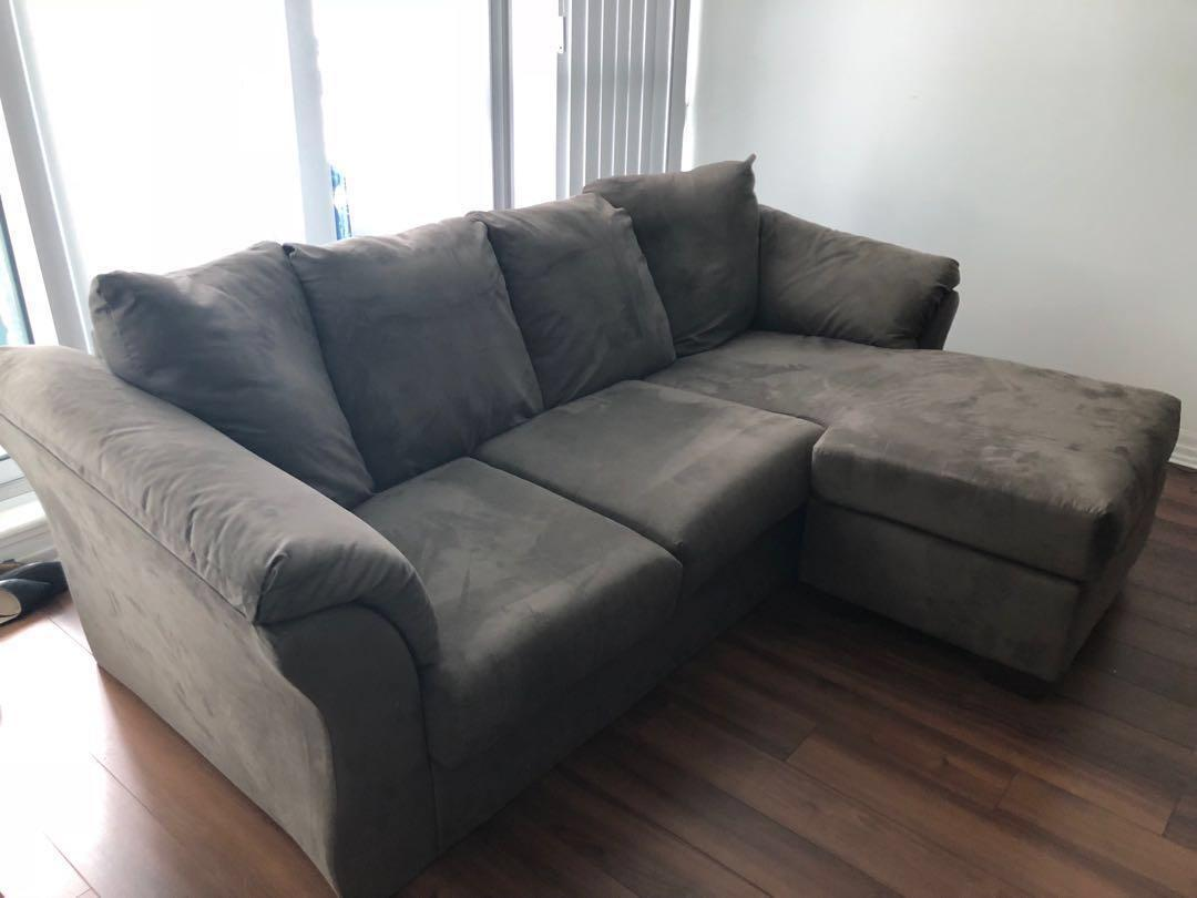 3 month old sectional couch, very comfortable