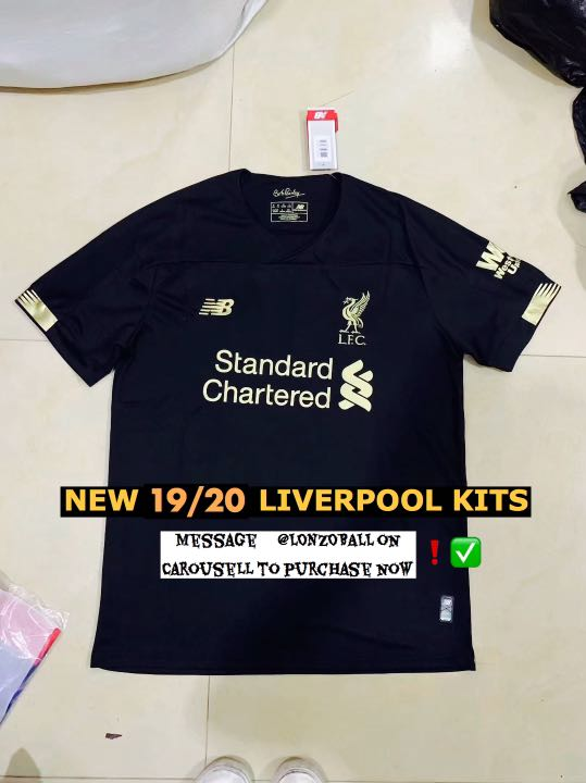 50ce44ecb 🔥 SALE LIVERPOOL 19/20 GOALKEEPER KIT LIVERPOOL JERSEY 19/20 ...