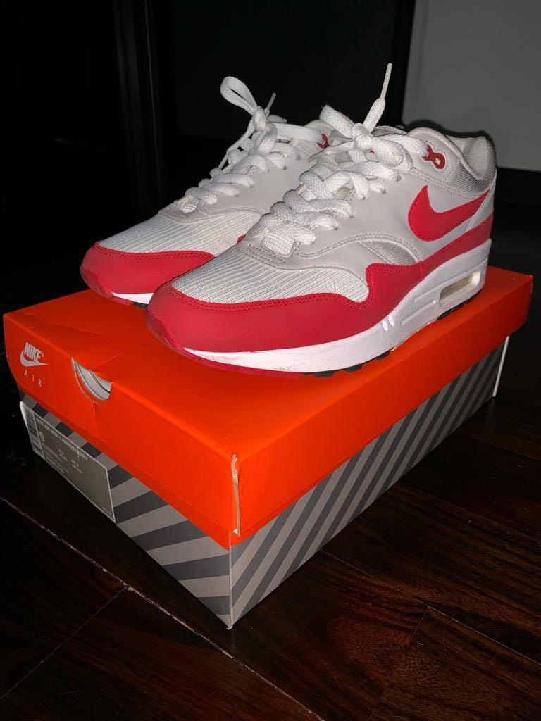 Air Max 1 Anniversary Red, Men's Fashion, Footwear, Sneakers