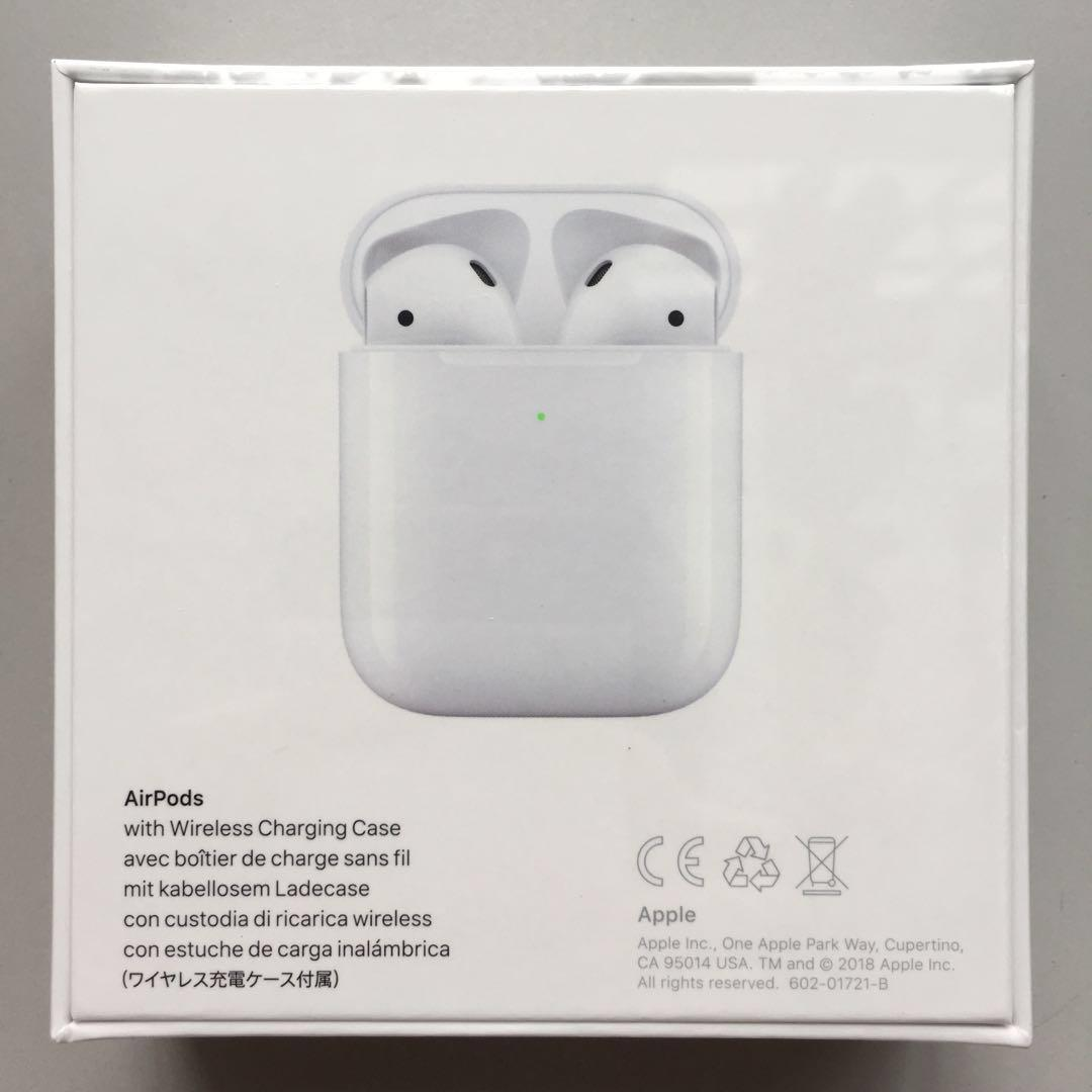 Apple Airpods 2 Gen 2 With Wireless Charging Case 2019 Version