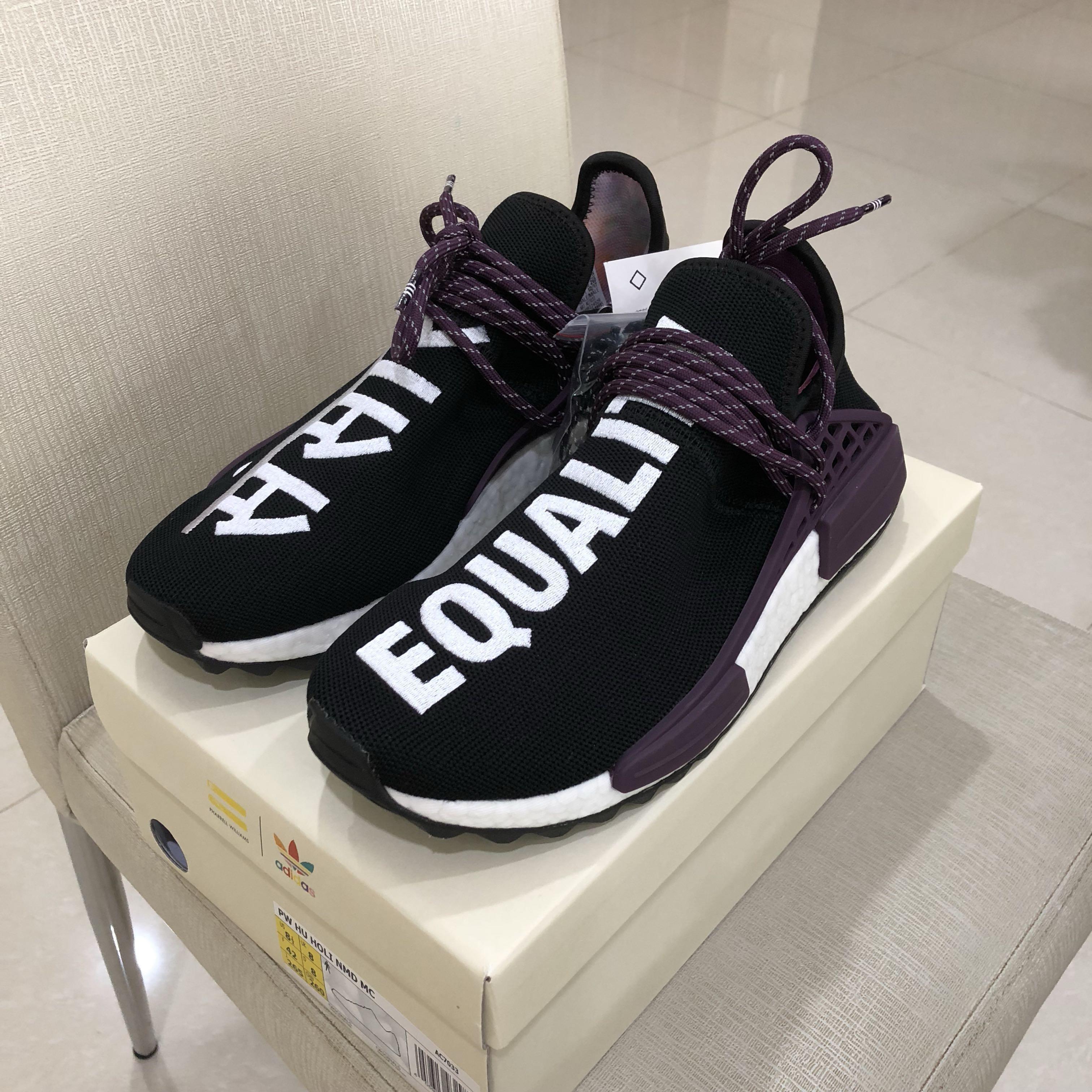 online store 5fb7f e11fe Authentic Adidas x Pharrell Williams NMD Hu Holi Core Black ...