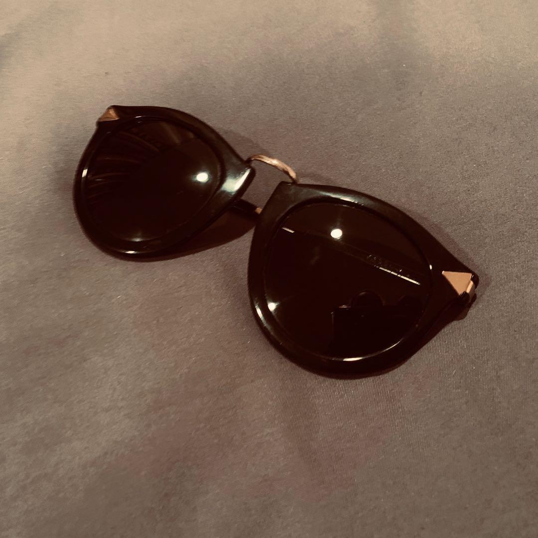 Authentic Karen Walker Harvest Sunglasses *need to be repaired*