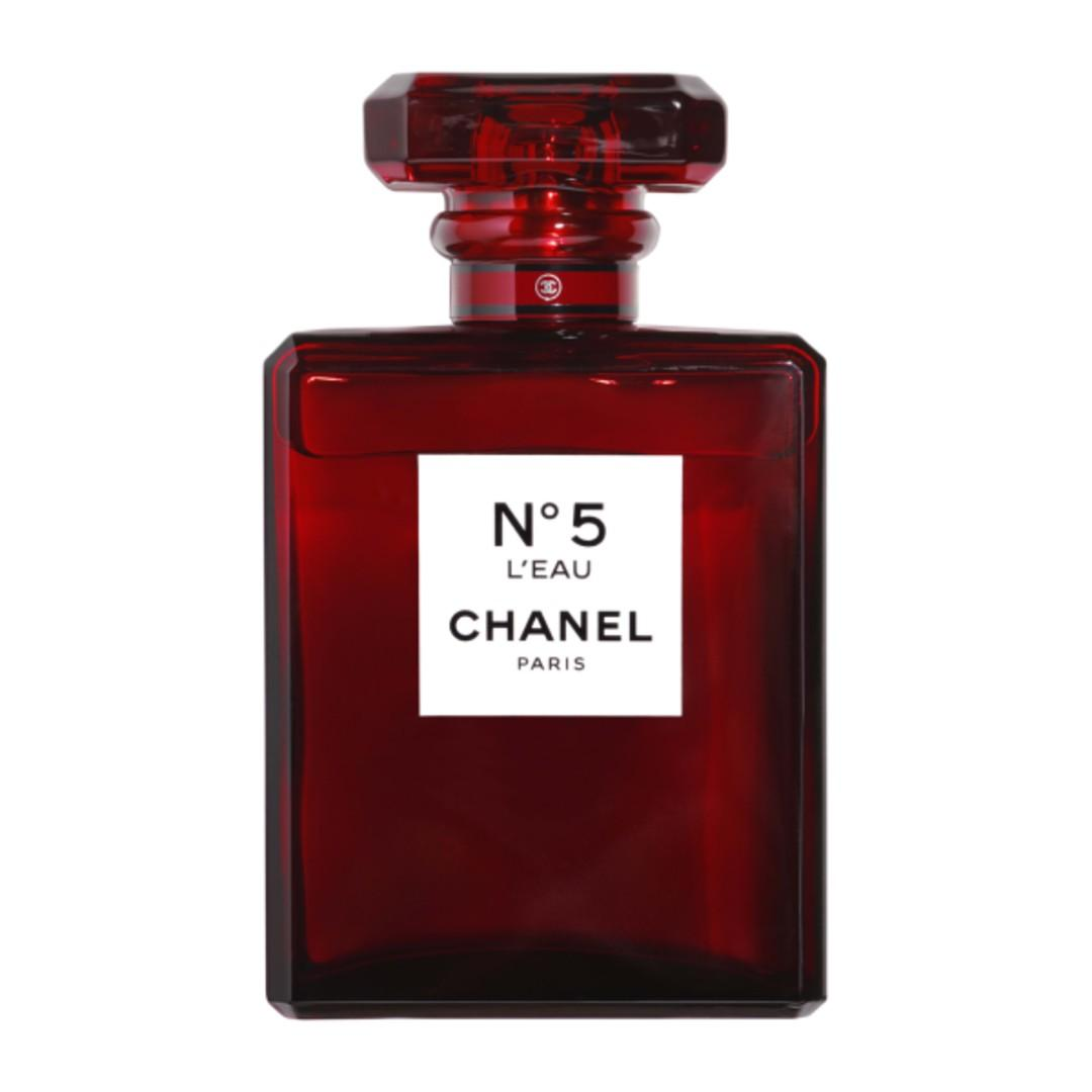 Authentic Limited Edition Chanel N5 Red EDT 100ml