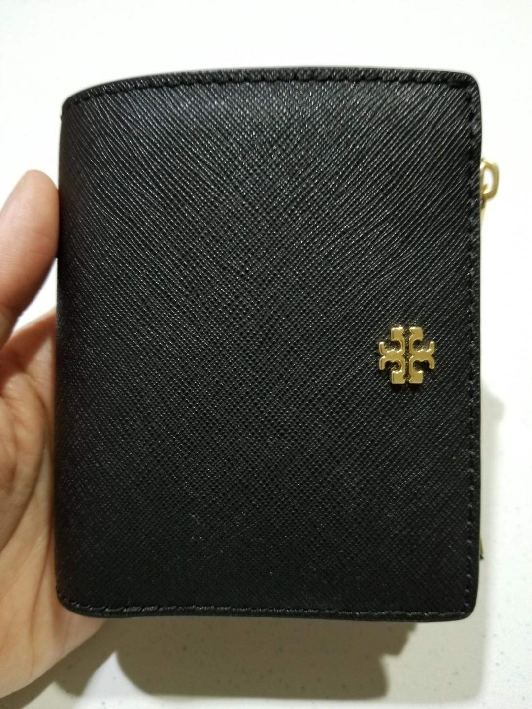 AUTHENTIC TORY BURCH EMERSON MINI WALLET LIKE NEW