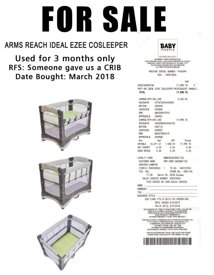 Baby Company Ideal Ezee Cosleeper