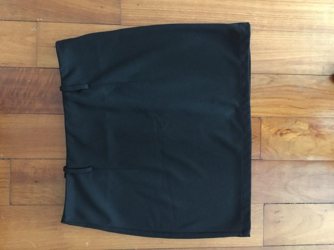 Black Shift Skirt