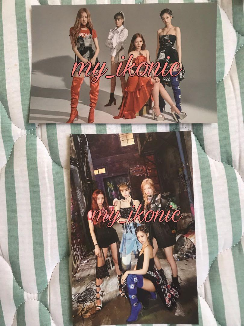 Blackpink Kill This Love postcard YG Select edition