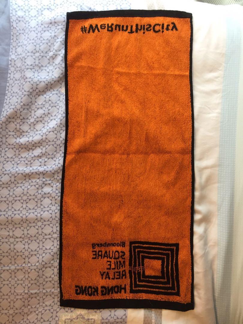 運動毛巾Bloomberg Sports towel #OOTDForMen