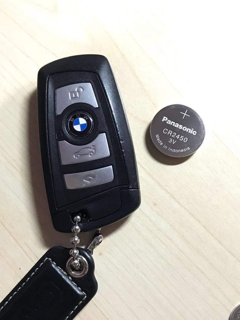 Bmw Key Fob Battery Change Car Accessories Accessories On Carousell