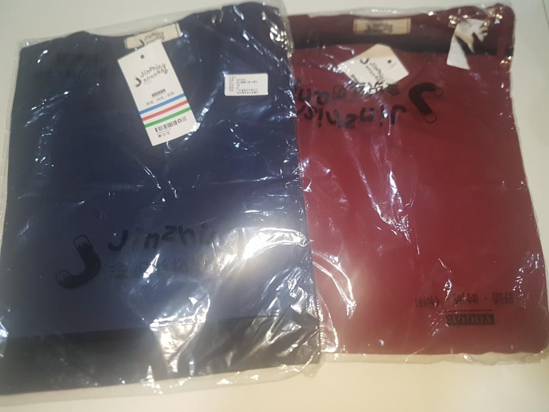 BN free size t-shirts plain colour good material