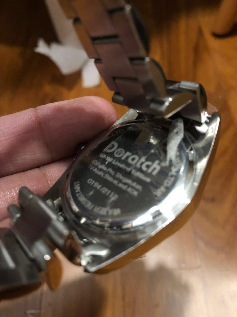 """BNIB! Rare Limited Edition Doraemon Doratch """"Akeboke"""" Watch (Silver) (Only 1812 ever released and with unique serial number)"""