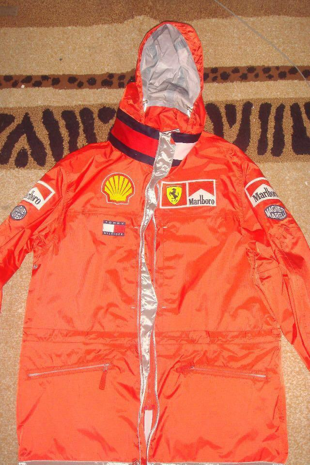 BRAND NEW NEVER WORN FERRARI X TOMMY HILFIGER COAT (EXTREMELY RARE)
