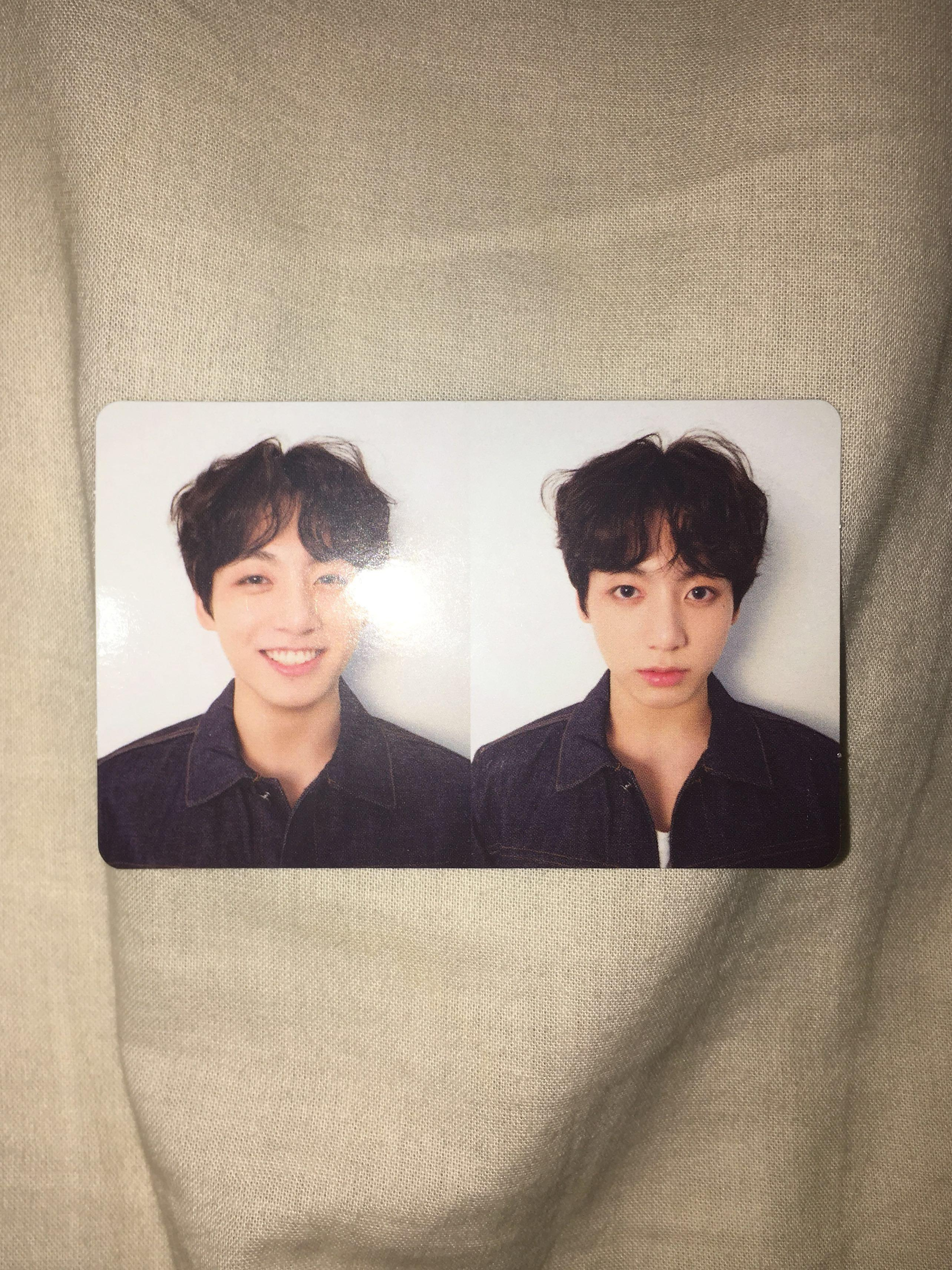 bts love yourself tear album version r (with jungkook pc)